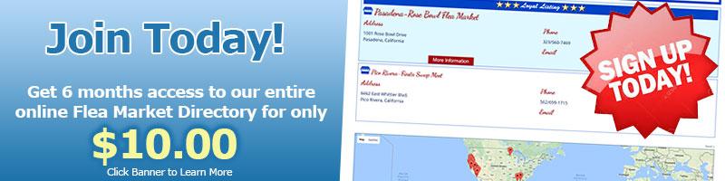 Online Flea Market Directory from Clark's Flea Market ...